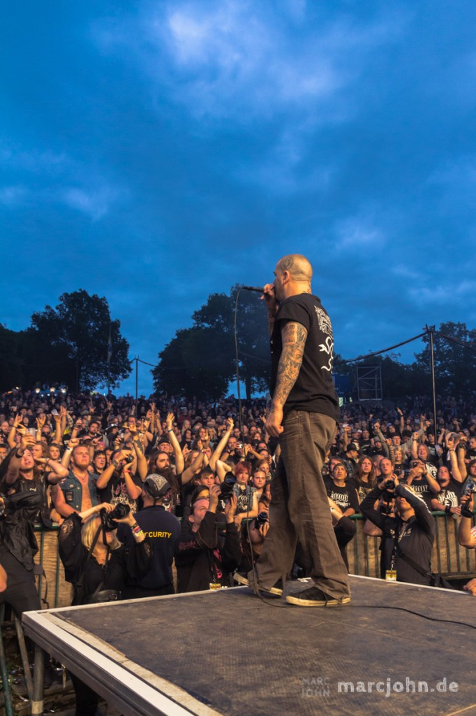 LORELEY, GERMANY - June 21, 2013 - down at the Metalfest Open Air - Phil Anselmo, vocals © 2013 by Marc Oliver John | marcjohn.de - Alle Rechte vorbehalten, Keine Veröffentlichung ohne Genehmigung - All rights reserved, no publishing without permission.    marcjohn.de