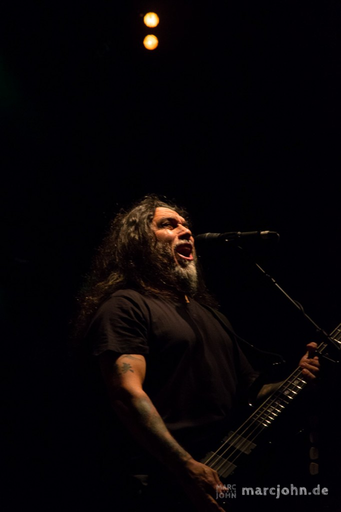 LORELEY, GERMANY -  21.06.2013 - Slayer at the Metalfest Open Air - Tom Araya, Vocals