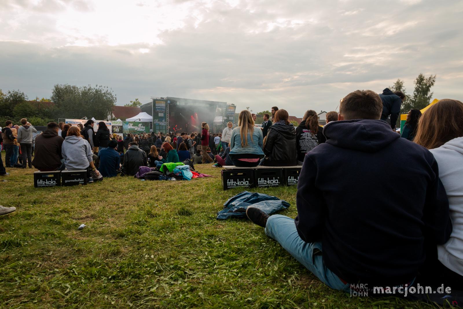 Green Juice Festival 2014 - Gelände