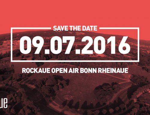 ROCKAUE 2016, neues Open Air in den Bonner Rheinauen, ist gekommen um zu bleiben.