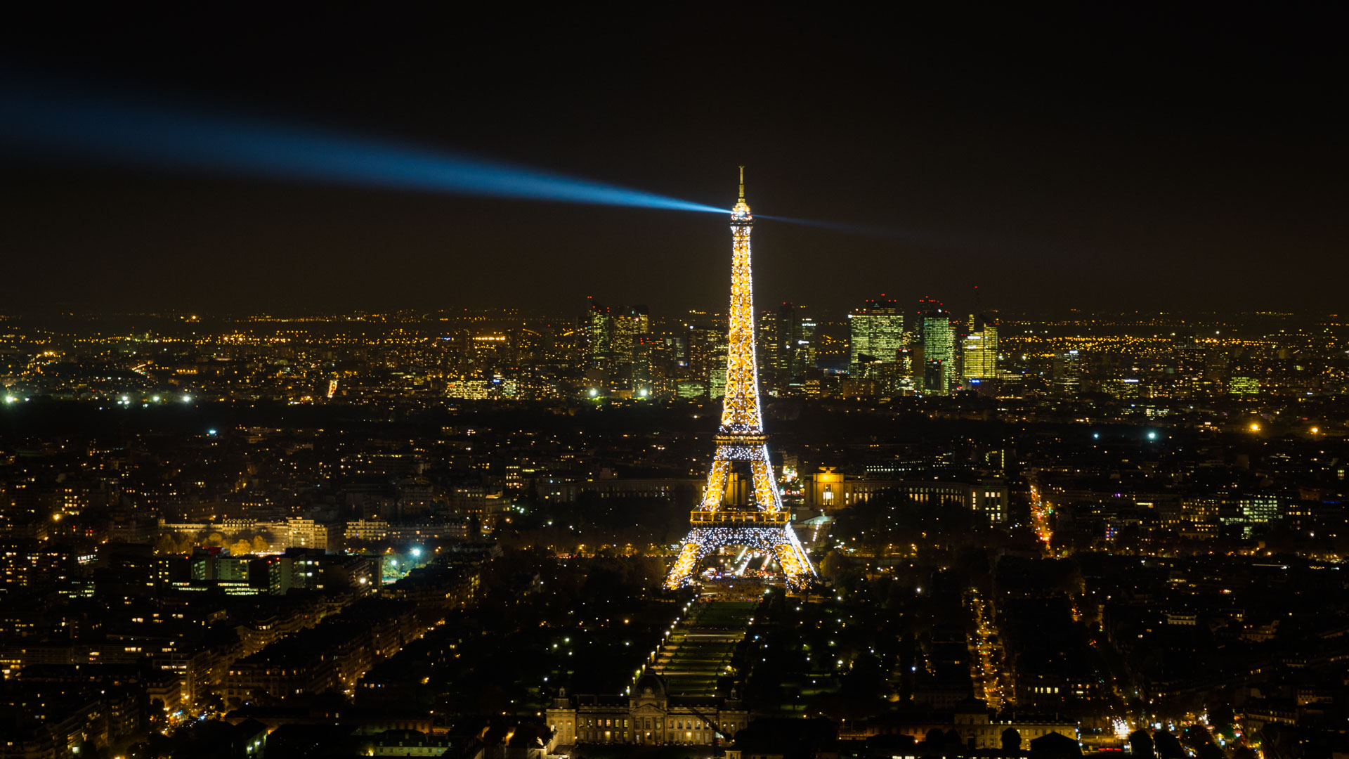 Paris - Montparnasse Tower | View to the Eiffel Tower