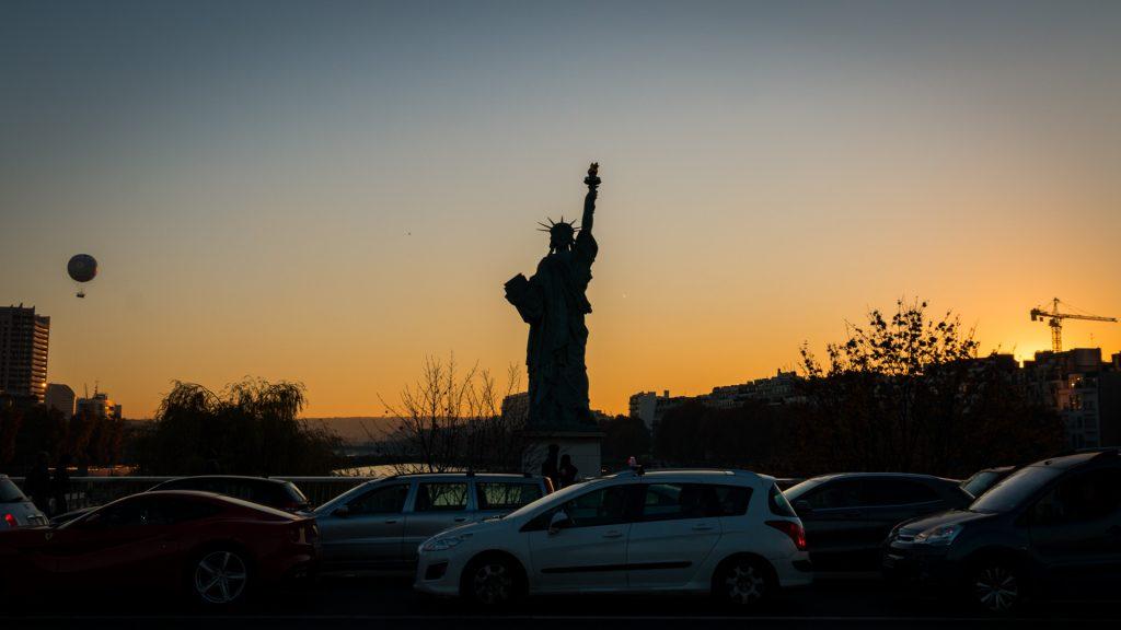 Paris - Allée des Cygnes | La Statue de la Liberté