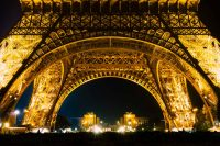 Paris - Champ de Mars | Nightview to the Eiffel Tower