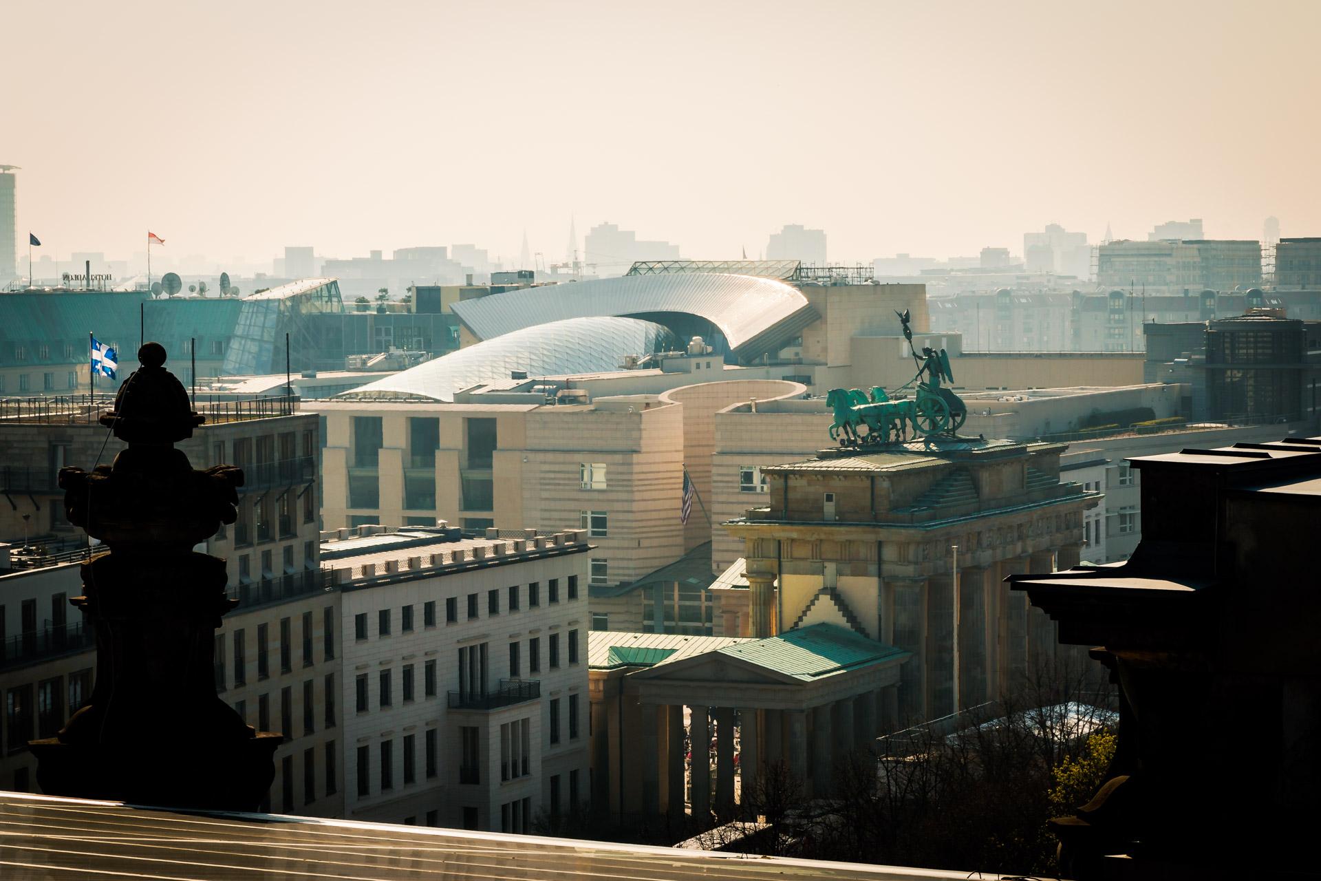 Berlin - Reichstag | Blick zum Pariser Platz