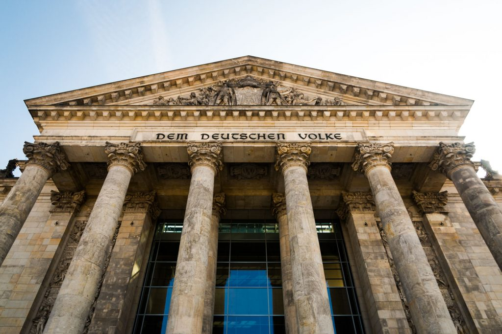 Berlin - Reichstag | Hauptportal